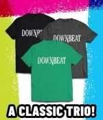 New DownBeat t-shirts